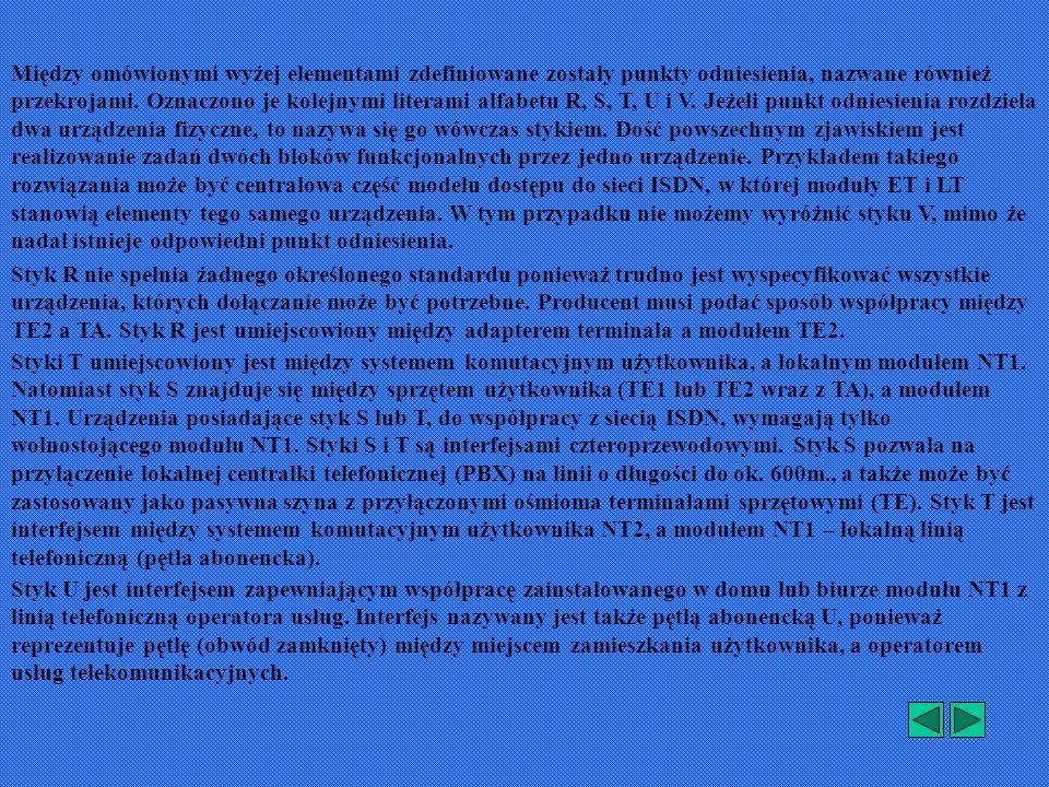 Funkcje i możliwości urządzeń NT1 zostaną przedstawione na następujących przykładach: NT1-Q NTBA NT1+2a\b NT1+2a\b+V.24 NT1 IP NTLEPMGF NTLEPMKU