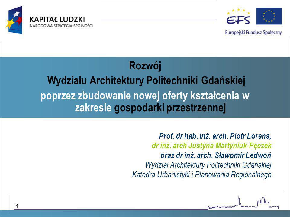 dr hab inż.arch. Daniel Załuski dr hab inż. arch.
