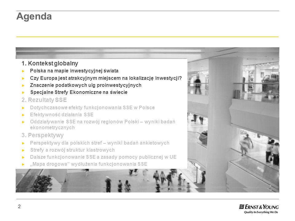 Page 13 13 Oddziaływanie SSE na rozwój regionów Polski – wyniki badań ekonometrycznych Wpływ na Produkt Krajowy Brutto: W podregionach, w których funkcjonują strefy, poziom PKB na mieszkańca jest wyższy przeciętnie o ok.