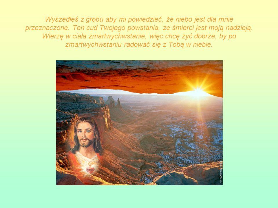 STACJA XIV Pan Jezus złożony do grobu Wykonało się. Martwe ciało owinięto w prześcieradło i złożono w wykutym grobie. Śmierć stała się początkiem życi