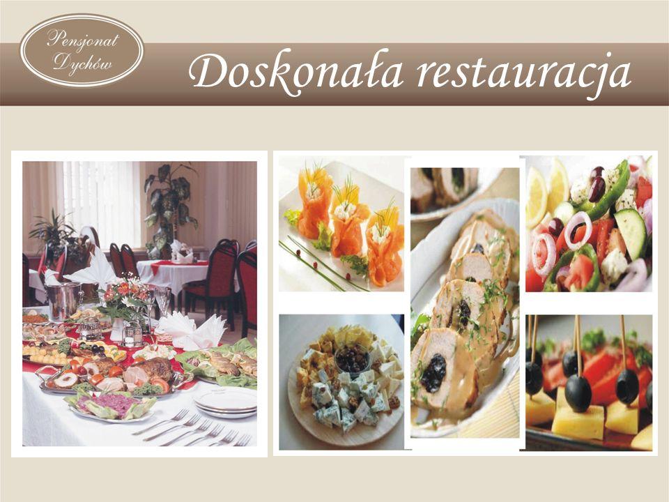 Więcej informacji na temat obiektu znajduje się na stronie internetowej www.dychow.hotel.pl