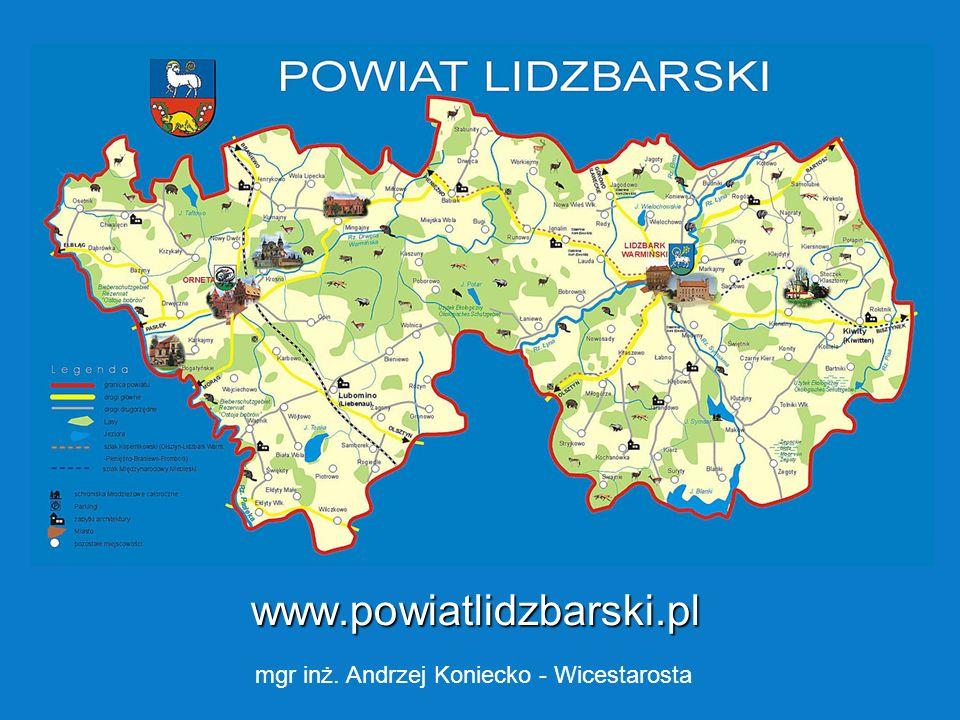 T Obiekty administrowane przez Starostwo w Lidzbarku Warmińskim w Lidzbarku Warmińskim