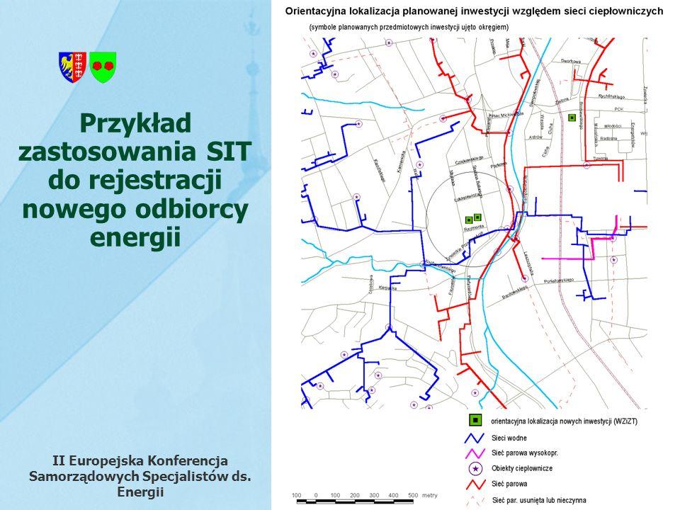 Przykład zastosowania SIT do rejestracji nowego odbiorcy energii II Europejska Konferencja Samorządowych Specjalistów ds. Energii