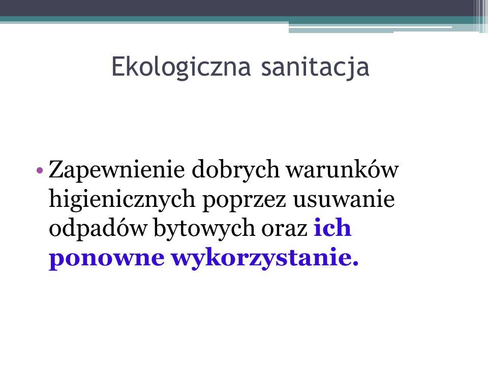 Titel des Vortrags, einzeilig oder zweizeilig 34 Koncepcja sanitacji miejskiej