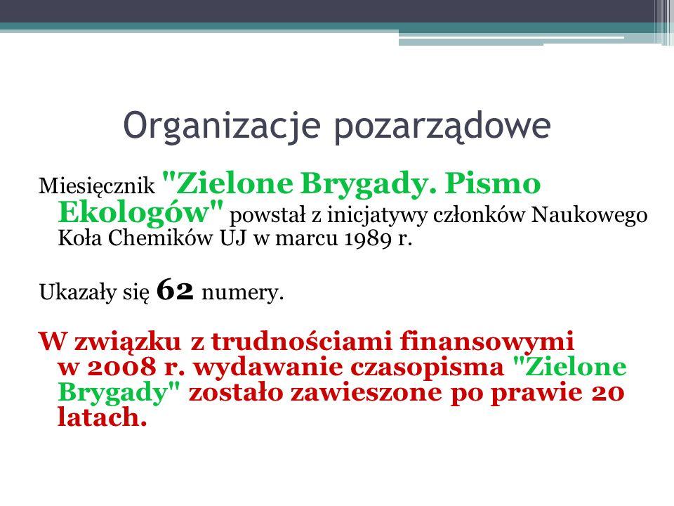 Organizacje pozarządowe Miesięcznik