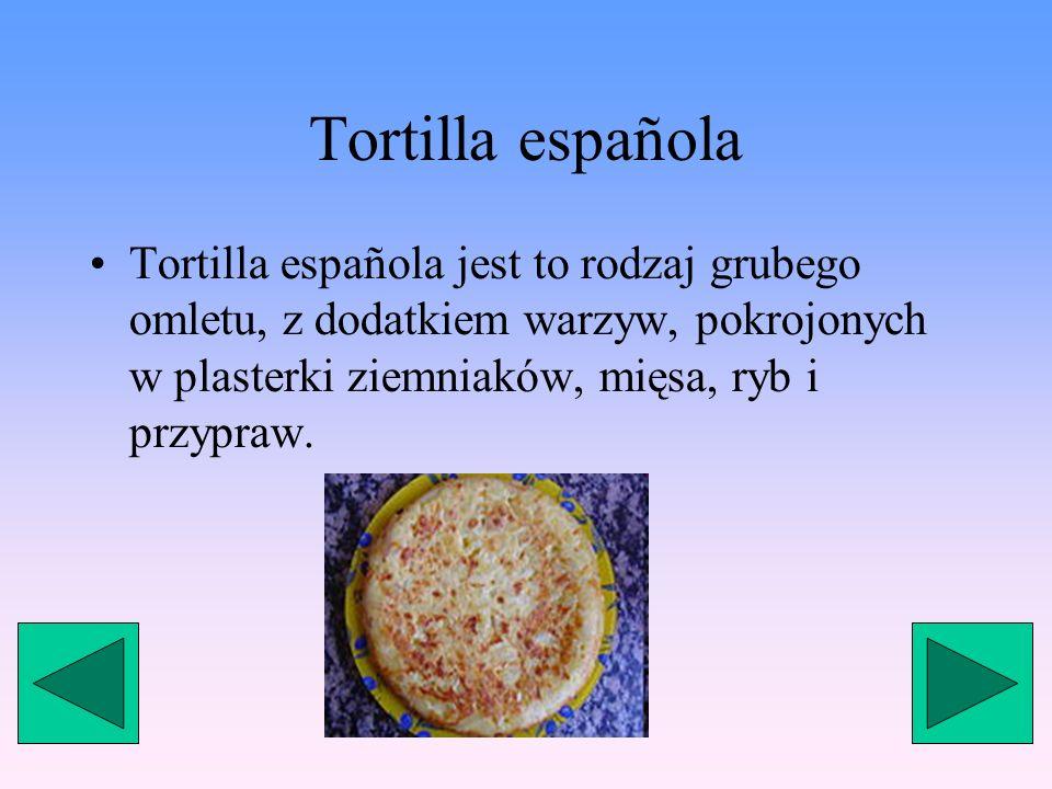 Fabada Fabada jest to rodzaj potrawy z fasoli, w której skład wchodzi min. fasola, kiełbasa, papryka, cebula, czosnek.