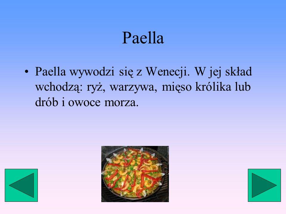 Pescaíto Frito Pescaíto Frito to potrawa składająca się z małych kawałków smażonej ryby, takiej jak sardynki i barweny wraz ze szklanką dobrze schłodz