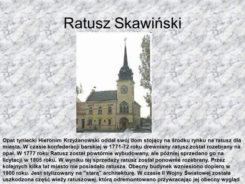 Kościół pw. św. Apostołów Szymona i Judy Tadeusza Zbudowany w 1364 roku w tym samym czasie, kiedy powstawało miasto. Pierwszym proboszczem był Piotr (