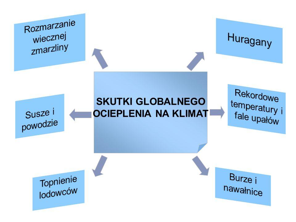SKUTKI GLOBALNEGO OCIEPLENIA NA KLIMAT