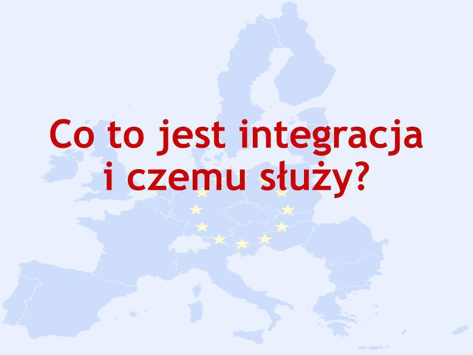 Integracja to łączenie się kilku elementów w całość w celu osiągnięcia konkretnych korzyści