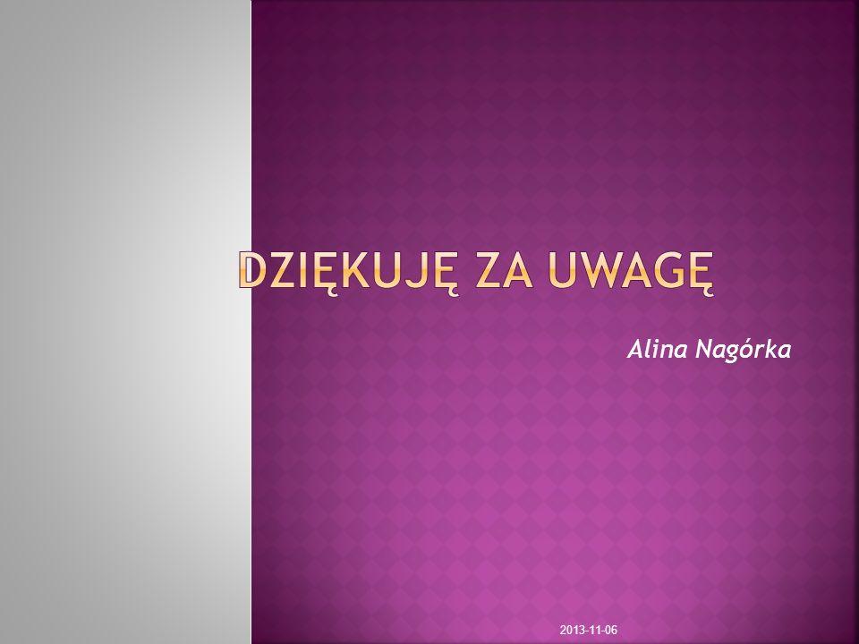 Alina Nagórka 2013-11-06