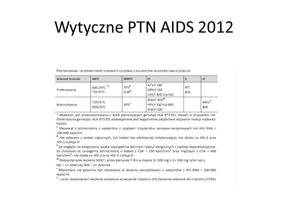 Wytyczne PTN AIDS 2012