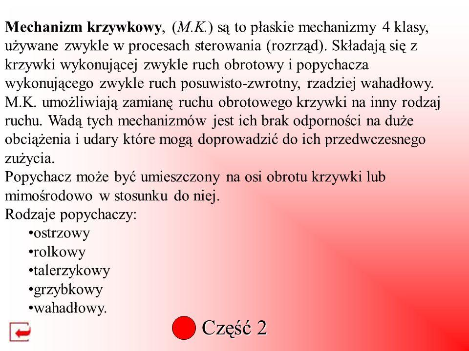 Mechanizm korbowo-wahaczowy jest to mechanizm, w którym ruch obrotowy korby powoduje ruch wahadłowy ramienia (wahacza). Dla tego mechanizmu musi być s