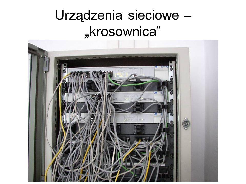 Urządzenia sieciowe – krosownica