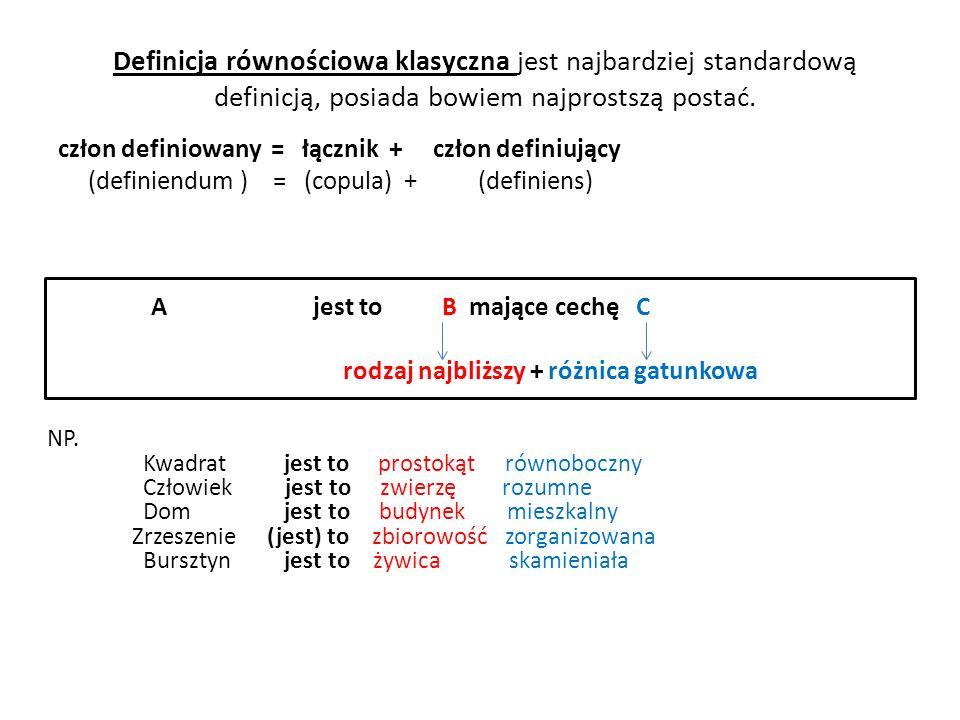 Sprawozdawcze - zdaje sprawę z istniejącego (aktualnego bądź przeszłego) rozumienia jakiegoś wyrażenia w danym języku; np.