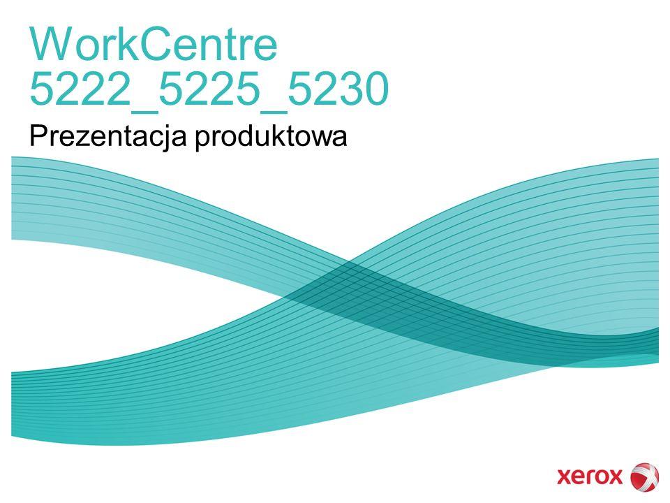 WorkCentre 5222_5225_5230 Prezentacja produktowa