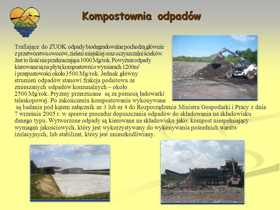 Zbiórka odpadów komunalnych EZGDK prowadzi działalność również w zakresie zbiórki odpadów komunalnych.