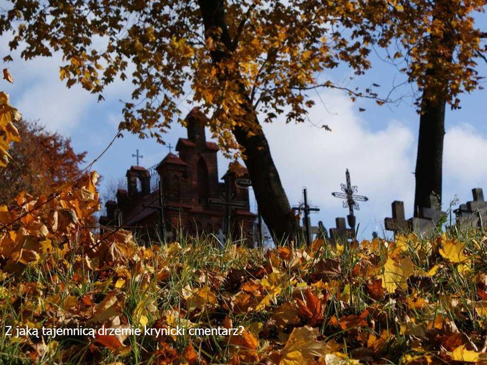 Z jaką tajemnicą drzemie krynicki cmentarz?