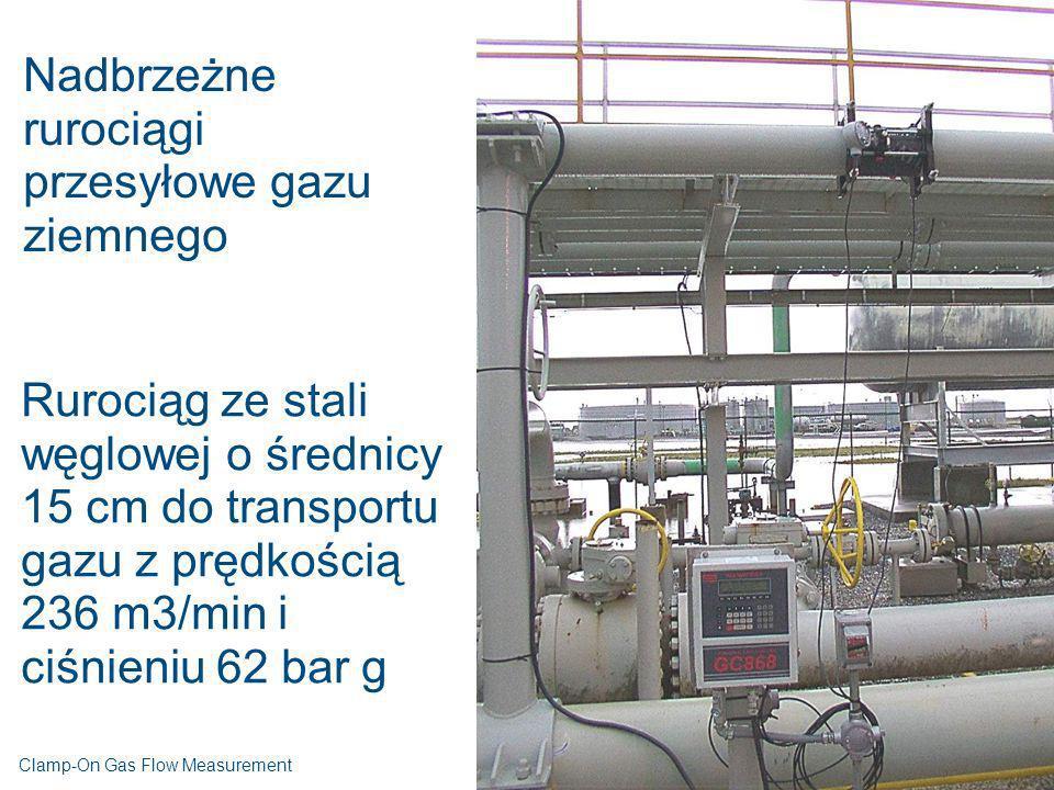 Nadbrzeżne rurociągi przesyłowe gazu ziemnego Rurociąg ze stali węglowej o średnicy 15 cm do transportu gazu z prędkością 236 m3/min i ciśnieniu 62 ba