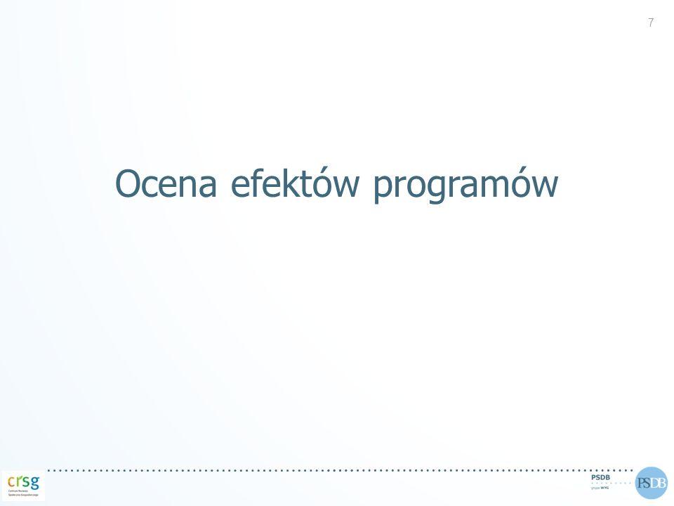 Ocena efektów programów 7