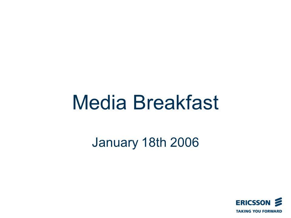 Slide title In CAPITALS 50 pt Slide subtitle 32 pt Media Breakfast January 18th 2006