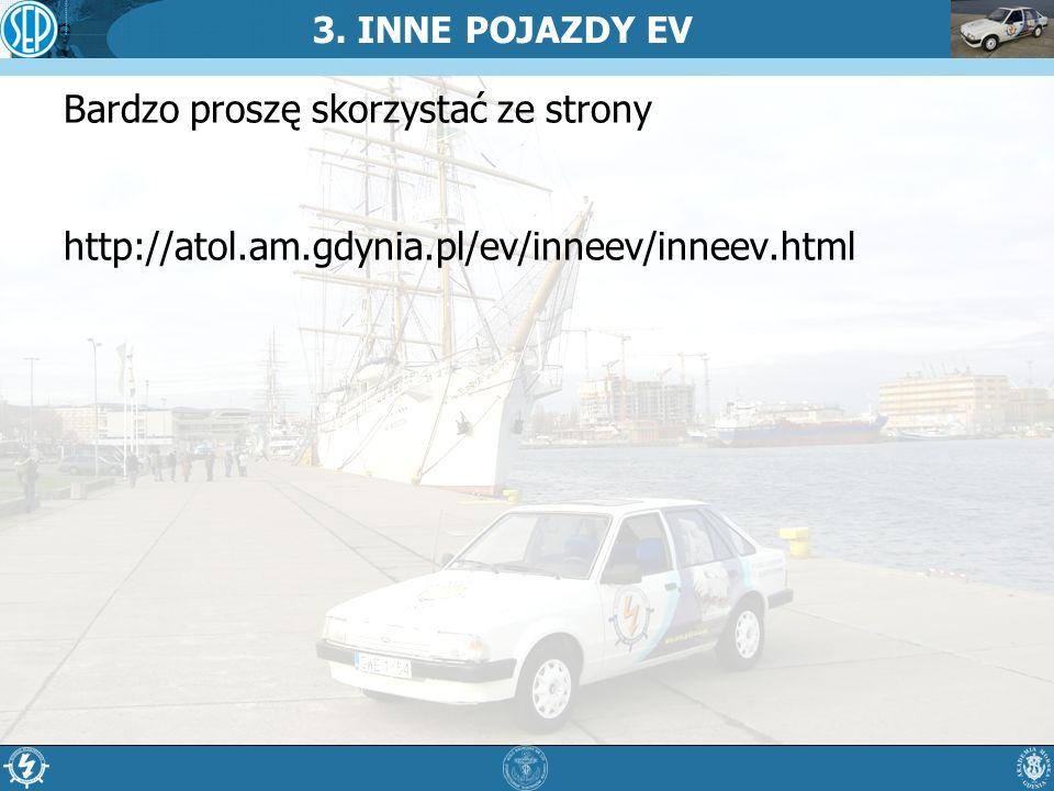 3. INNE POJAZDY EV Bardzo proszę skorzystać ze strony http://atol.am.gdynia.pl/ev/inneev/inneev.html