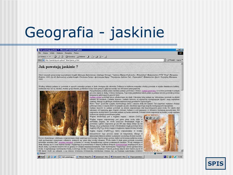 SPIS Geografia