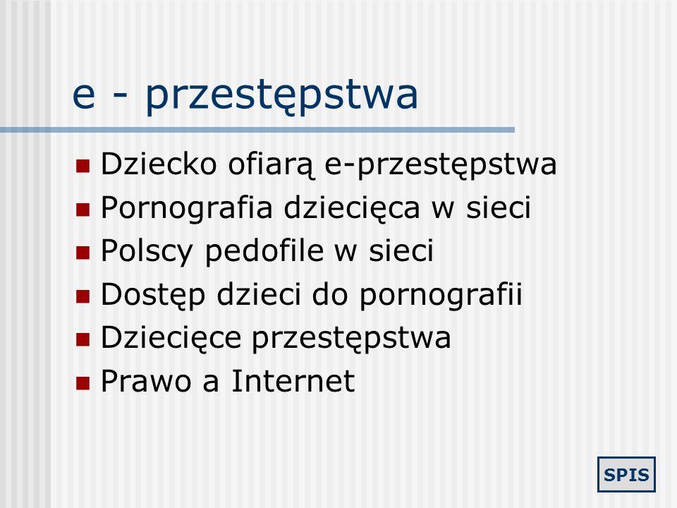 e - przestępstwa