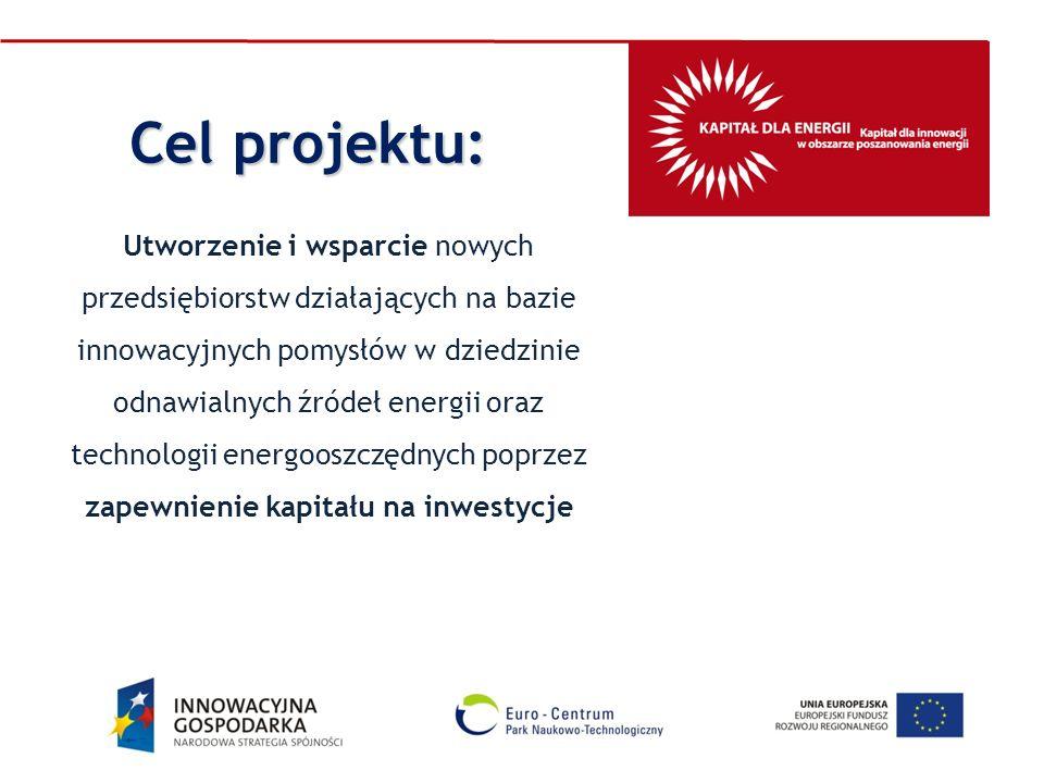 Utworzenie i wsparcie nowych przedsiębiorstw działających na bazie innowacyjnych pomysłów w dziedzinie odnawialnych źródeł energii oraz technologii en