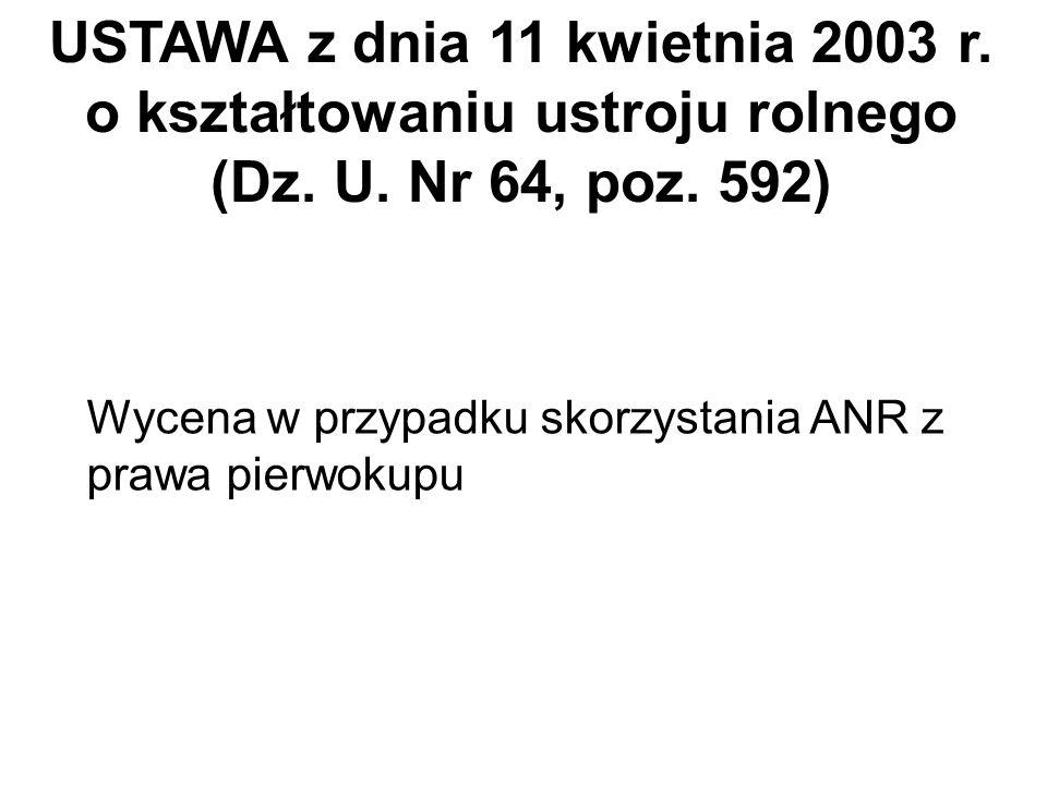 Ustawa z dnia 20.XII.1990 r. o ubezpieczeniu społecznym rolników (art. 58) Rozp. Ministra Rolnictwa i Gospodarki Żywnościowej z dnia 18.XI.1992 r. - w