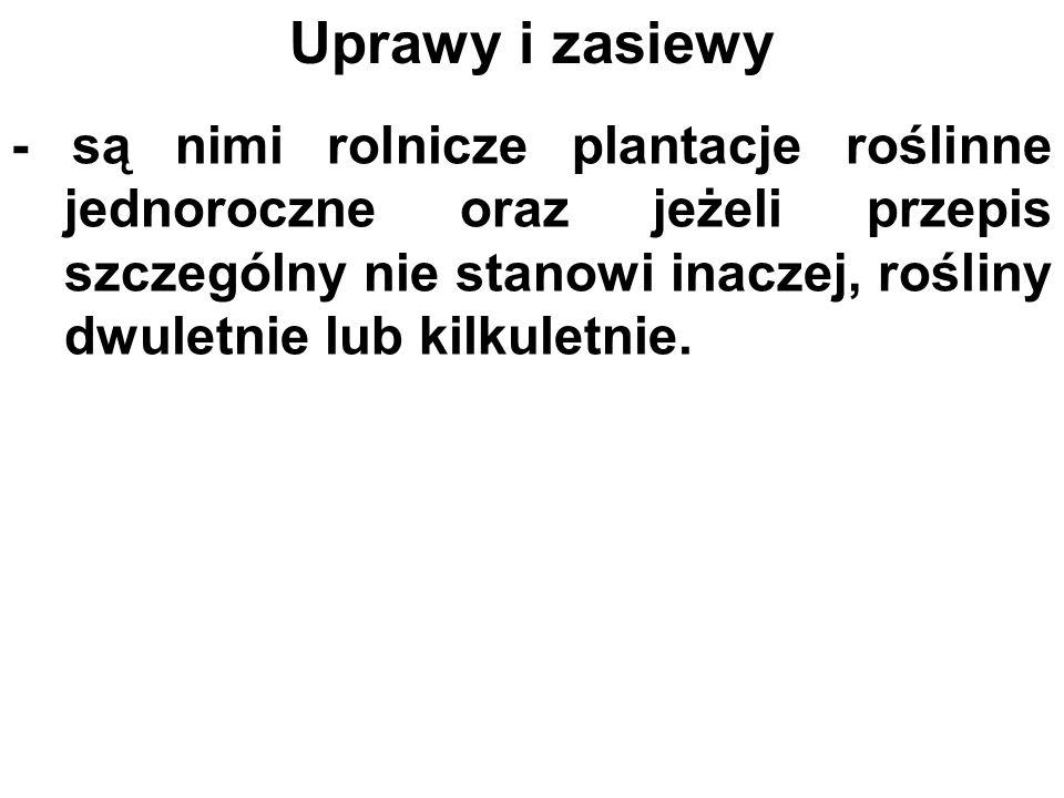 Części składowe gruntu rolnego 1.grunty rolne 2. budynki i budowle rolnicze, 3.