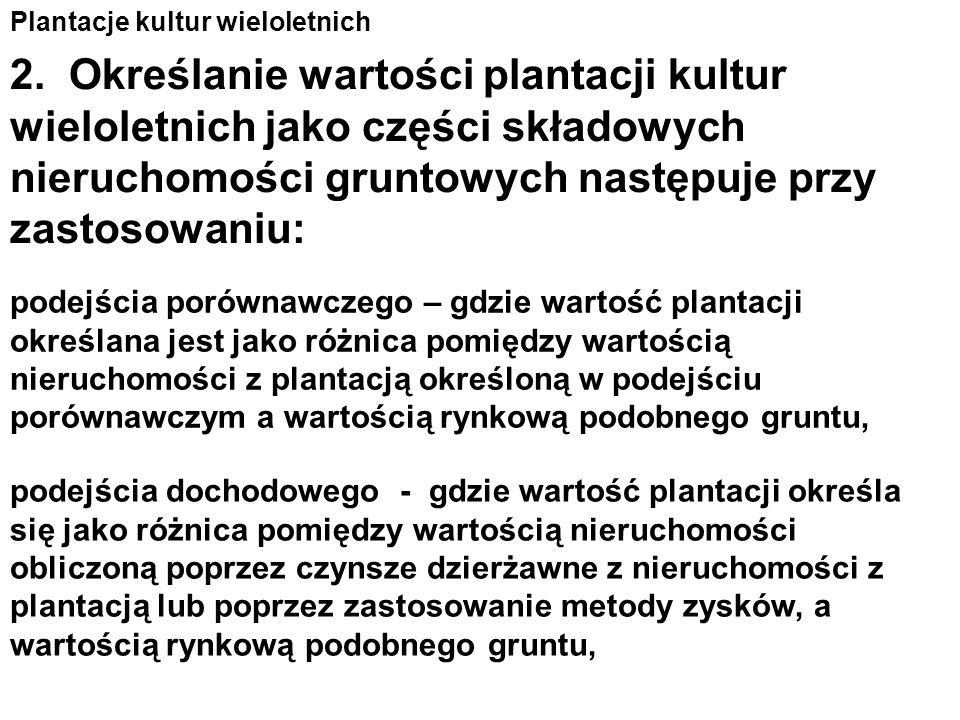 Plantacje kultur wieloletnich 1.