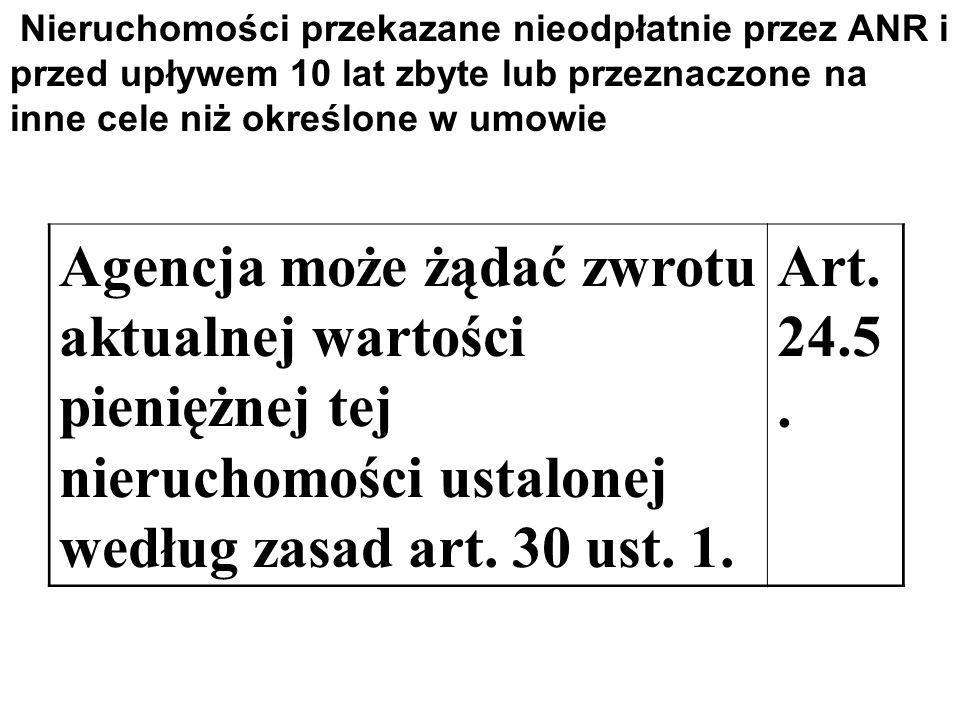 Według zasad przewidzianych w przepisach o gospodarce nieruchomościami A.według cen rynkowych, Art.