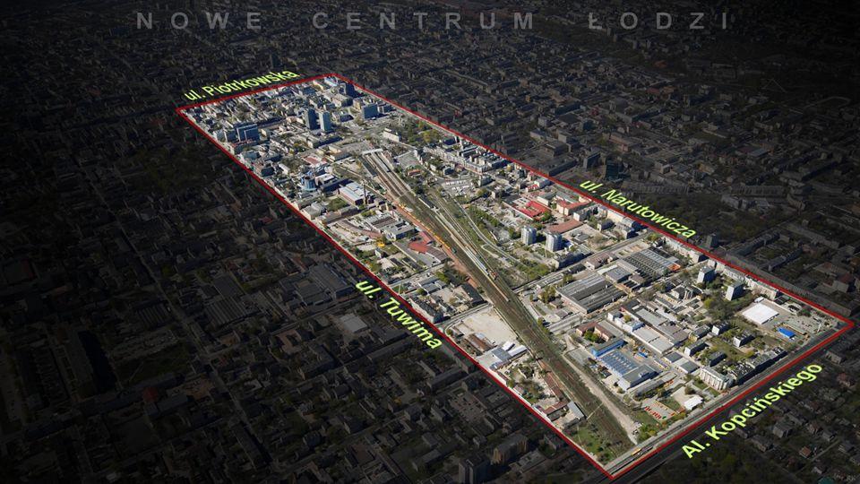 Zarząd Nowego Centrum Łodzi Przedmiotem programu jest stworzenie nowej przestrzeni miejskiej na obszarze pomiędzy ulicami: Piotrkowską, Juliana Tuwima