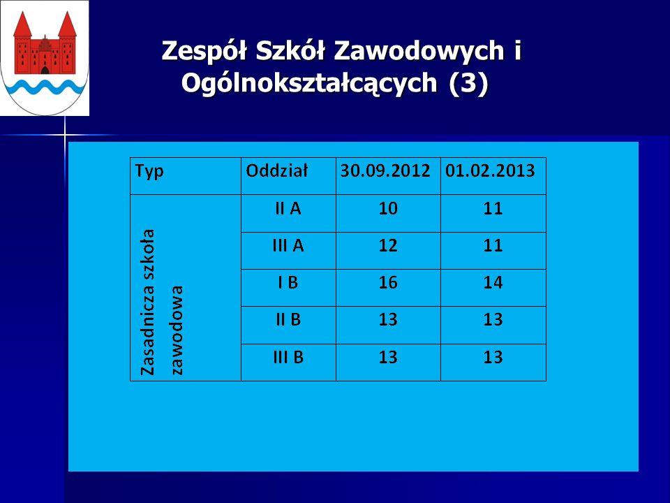 Zespół Szkół Zawodowych i Ogólnokształcących (3) Zespół Szkół Zawodowych i Ogólnokształcących (3)