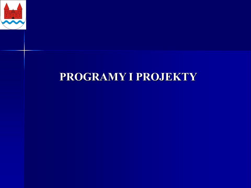 PROGRAMY I PROJEKTY PROGRAMY I PROJEKTY