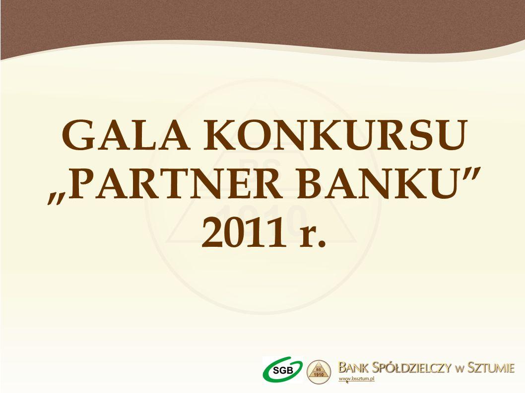 GALA KONKURSU PARTNER BANKU 2011 r.