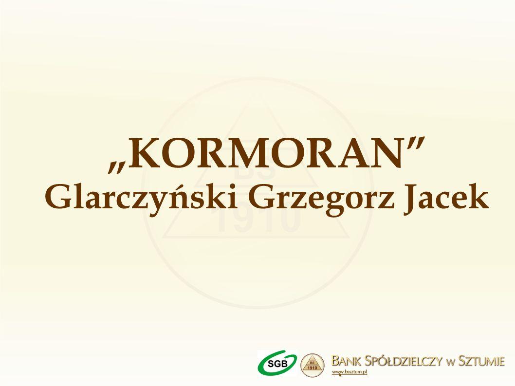 KORMORAN Glarczyński Grzegorz Jacek