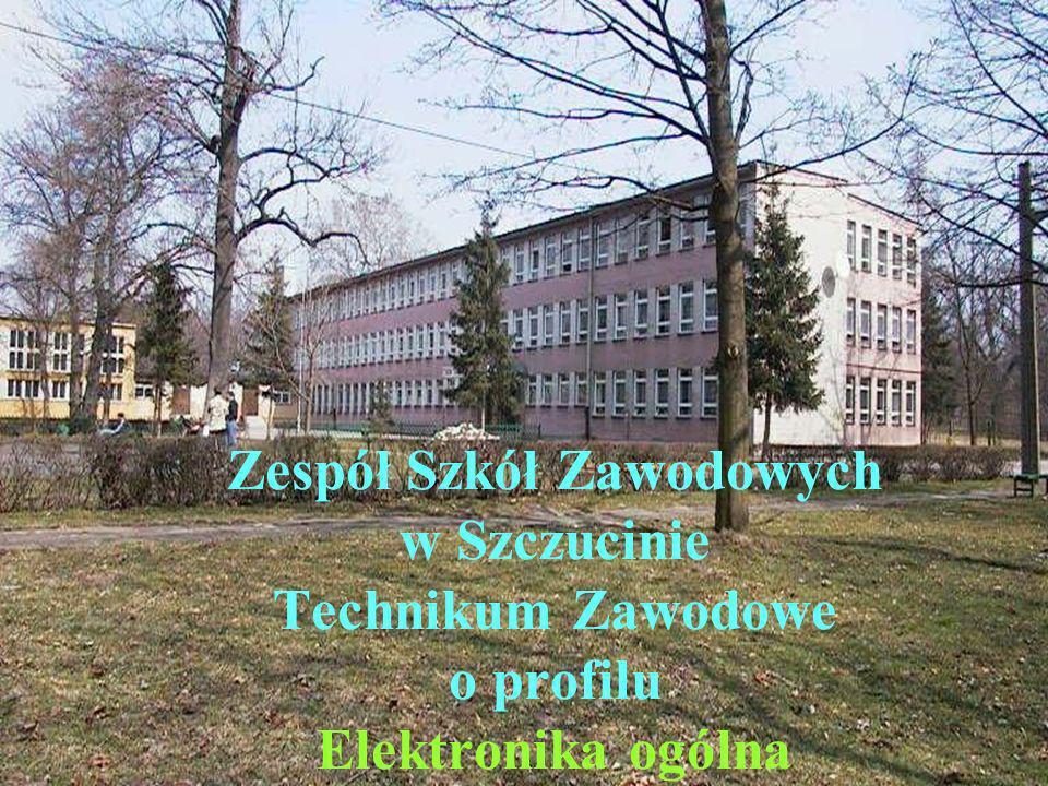 Zespół Szkół Zawodowych w Szczucinie Technikum Zawodowe o profilu Elektronika ogólna