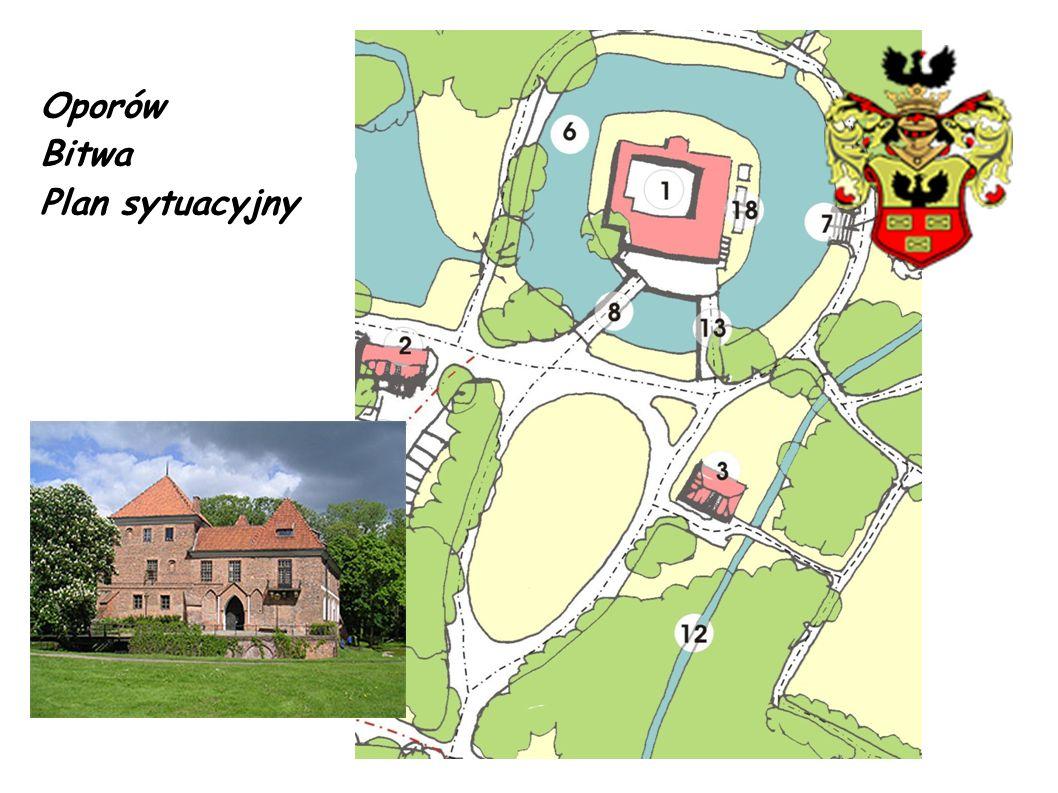 R Zabezpieczenie terenu: Inscenizacja (scena 1) ma się odbywać na dużym klombie przed zamkiem.