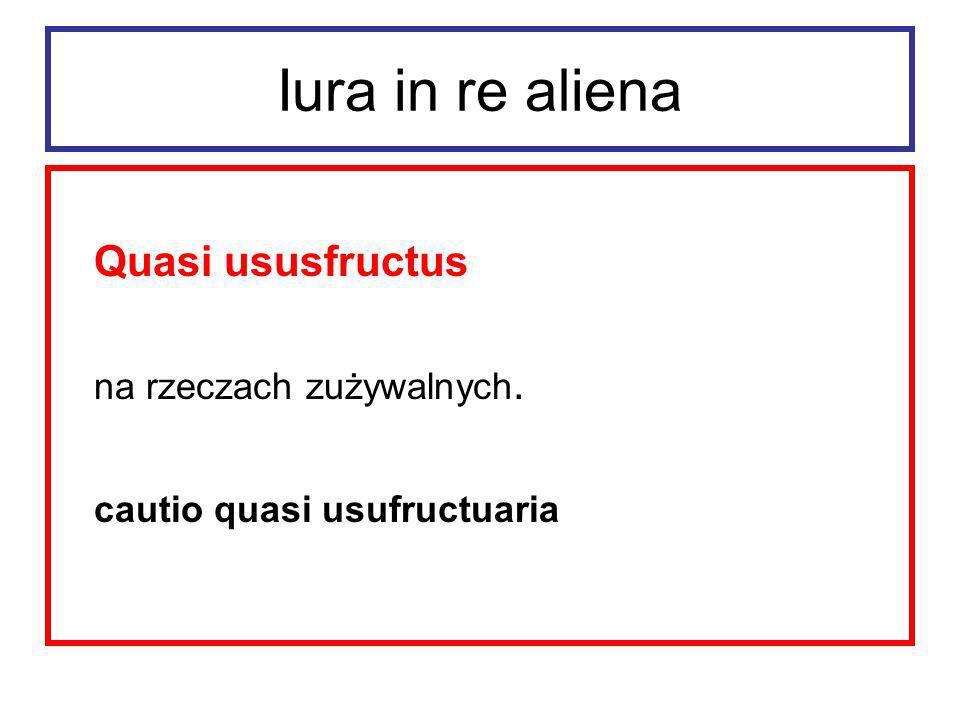 Iura in re aliena Usus co do zasady nie obejmował prawa do pobierania pożytków z używanej rzeczy.