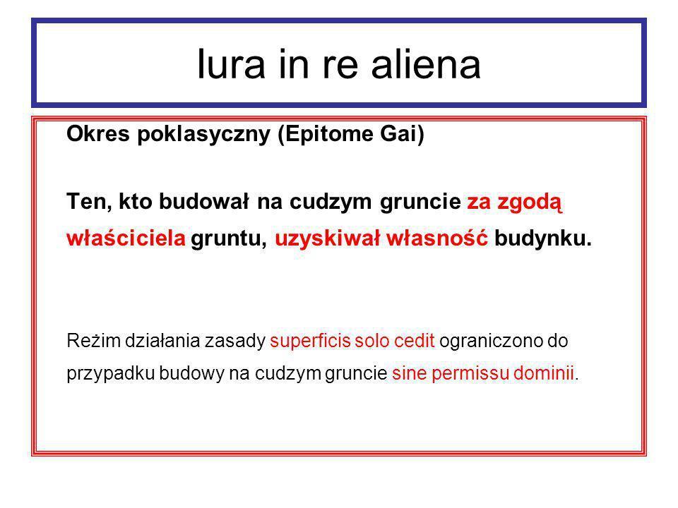 Iura in re aliena Dzierżawa wieczysta i długoterminowa: 1.