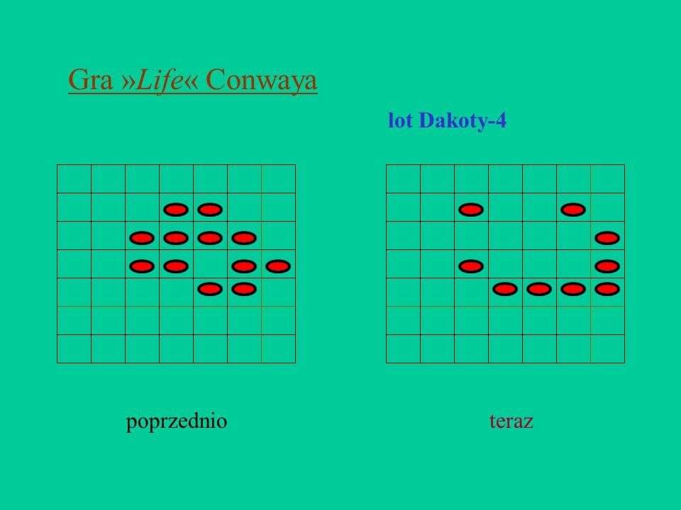 Gra »Life« Conwaya lot Dakoty-4 poprzednioteraz