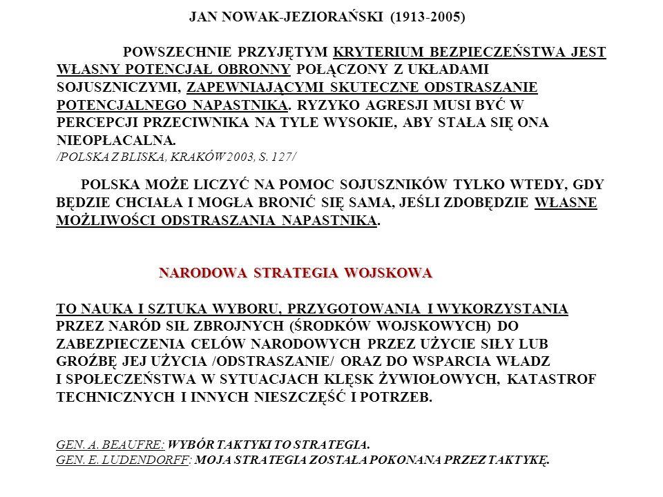 PRZEŁOM STRATEGICZNY XVIII/XIX w.