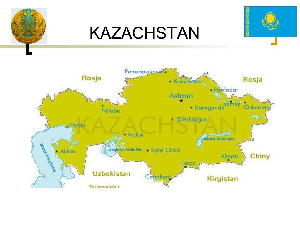 FIRMY POLSKIE W KAZACHSTANIE Na dzień dzisiejszy w Kazachstanie funkcjonuje ponad 100 firm na zasadzie kazachstańsko-polskiego wspólnego przedsiębiorstwa bądź ze 100% udziałem kapitału polskiego Dla porównania: W 2002 r.