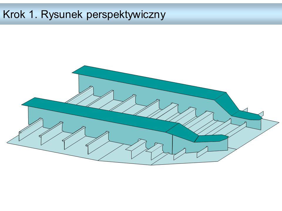 Krok 1. Rysunek perspektywiczny