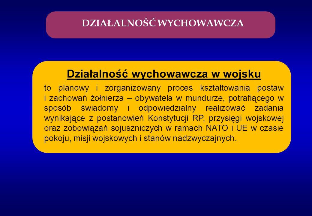Reforma wojskowych przepisów dyscyplinarnych: - ustawa o dyscyplinie wojskowej z dnia 9 października 2009 r.