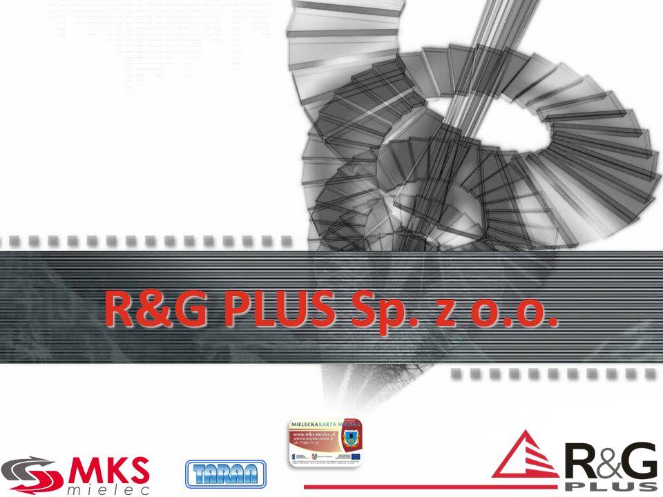 R&G http//:www.rg.com.pl TARAN: http//:www.taran.com.pl Dziękujemy za uwagę
