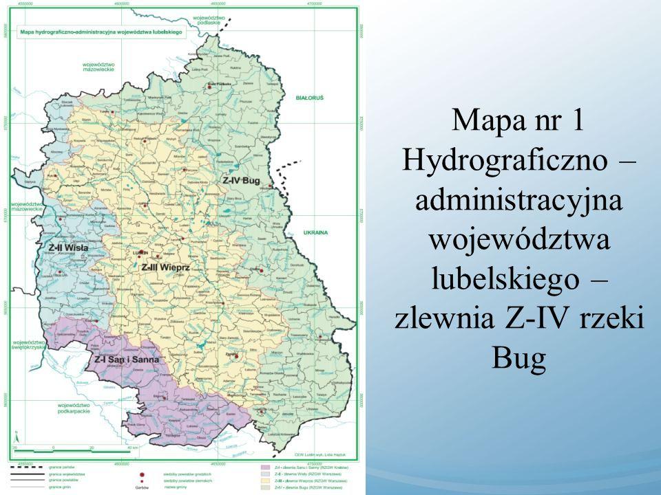 Mapa nr 4 Koncepcja projektowa urządzeń przeciwpowodziowych w dolinie Rudawieckiej.