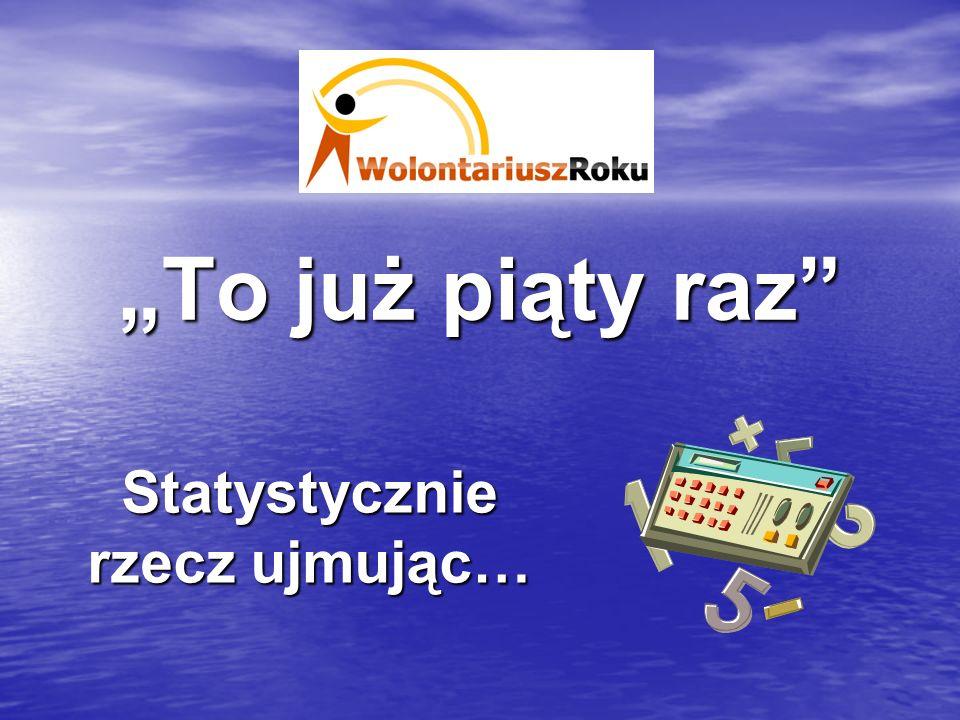 Laureaci Wybraliśmy 5 Wolontariuszy Roku Regionu Wałbrzyskiego.